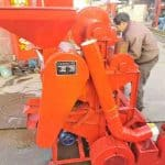 Automatic Peanut Cleaning and Shelling Machine for Burkina Faso Customer